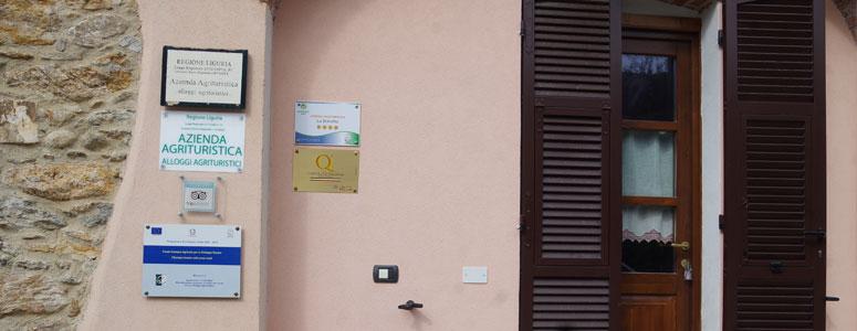 Contattare Agriturismo la brinetta a Calizzano